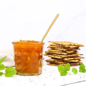 Abrikosmarmelade med vanilje - Opskrift med friske abrikoser