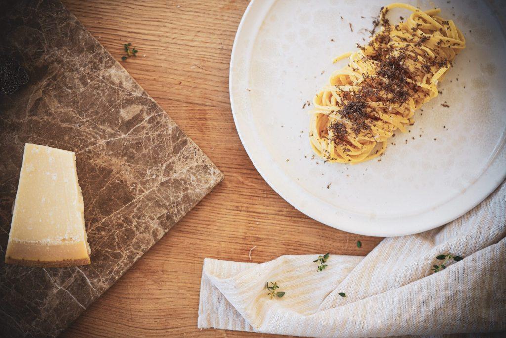 Pasta med frisk trøffel - fantastisk simpel ret