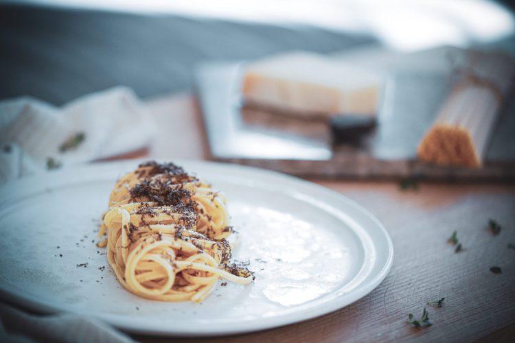 Pasta med frisk trøffel - fantastisk simpel ret$
