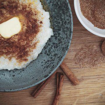 Opskrift på nem og lækker risengrød lavet på Thermomixer