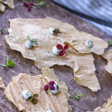 Hirsechips - Opskrift på chips lavet af hirseflager