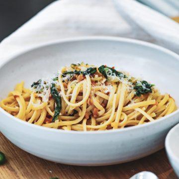 Opskrift på den bedste pasta med grøntsagssauce