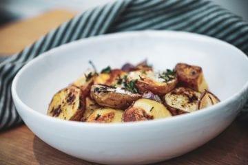 Opskrift på lækre råstegte kartofler
