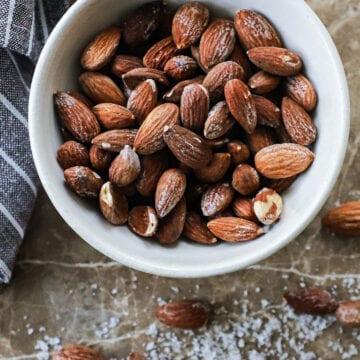 Saltede mandler - Opskrift på hjemmelavede saltmandler