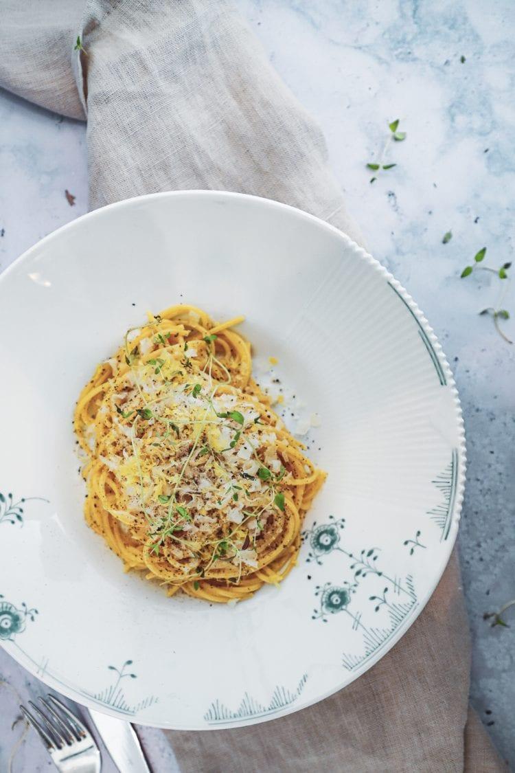 Den bedste citron pasta - opskriften finder du her