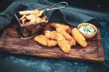 Opskrift på hjemmelavet Fish n Chips