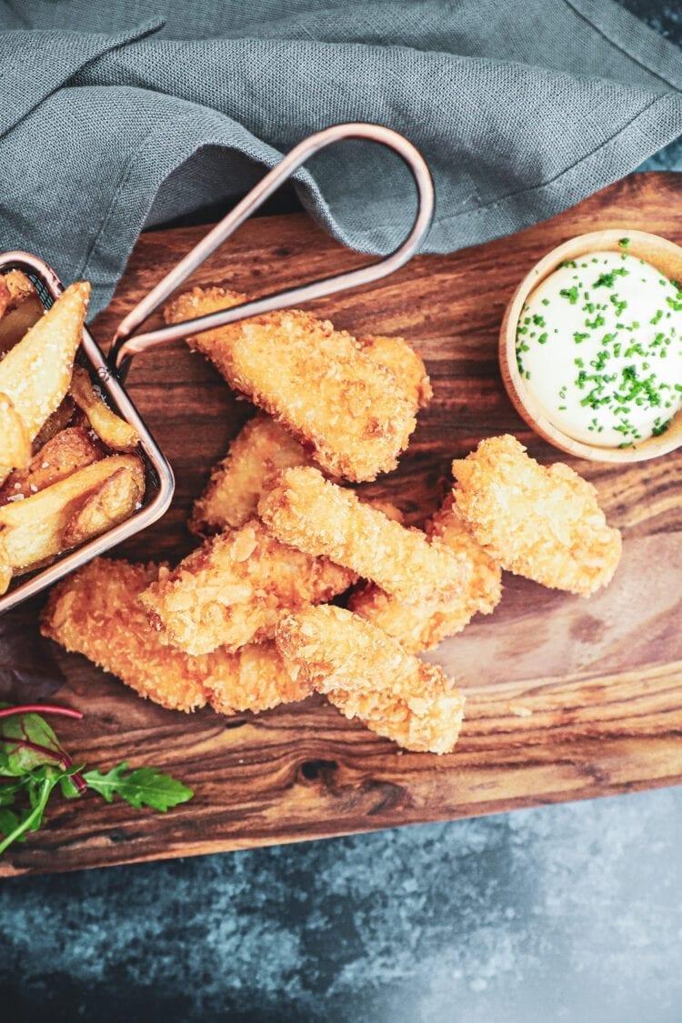 Fish and chips - Opskrift på hjemmelavet Fish'n'Chips