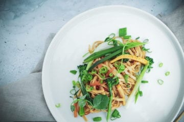 Opskrift på asiatisk wok med grøntsager