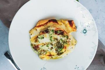 Opskrift på den bedste lasagne med pesto - pesto lasagne