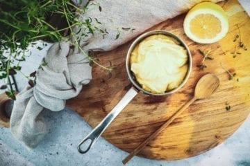 Opskrift på Hjemmerørt mayonnaise