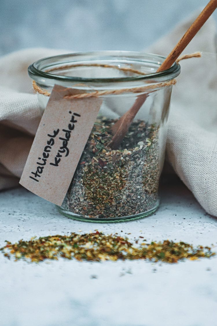 Opskrift på hjemmelavet italiensk krydderi