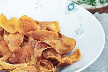 Opskrift på sprøde pastinak chips