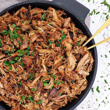 Pulled pork - Opskrift på pulled pork med hjemmelavet rub