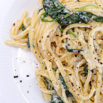Pasta gorgonzola - Opskrift på pasta i cremet gorgonzolasauce