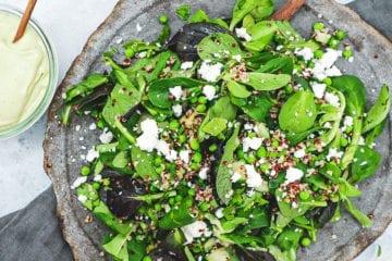 Quinoasalat med feta - Opskrift på skønt tilbehør til grill