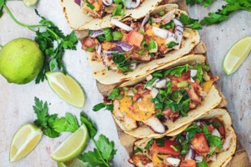 Taco al pastor - Opskrift på lækre mexicanske tacos