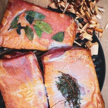 Hjemmelavet bacon - Opskrift på bacon tilberedt i Morsø Forno