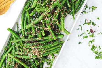 Lun bønnesalat - Opskrift på bønnesalat med grønne bønner