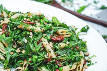 Pastasalat - Opskrift på den lækreste grønne pastasalat