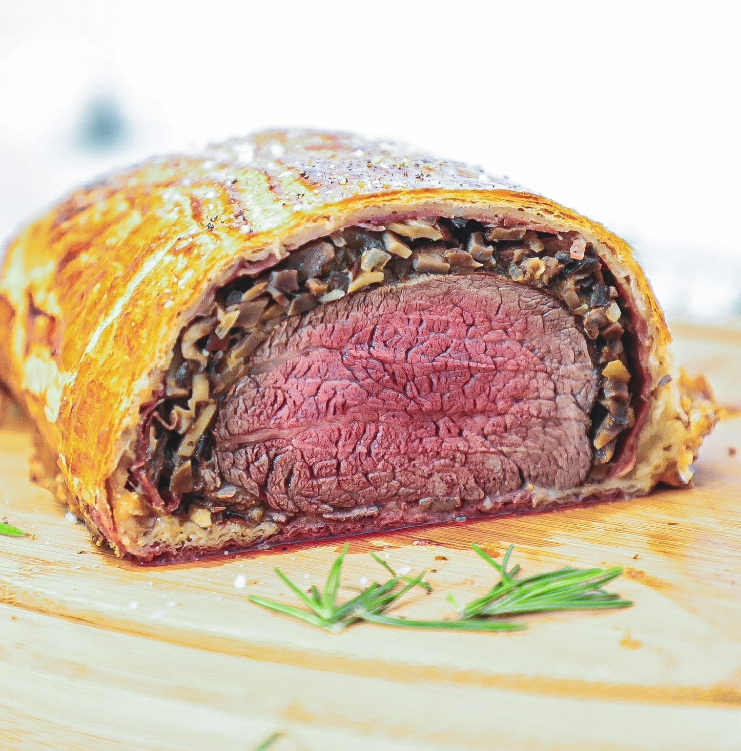 Beef Wellington - Opskrift på den bedste Beef Wellington