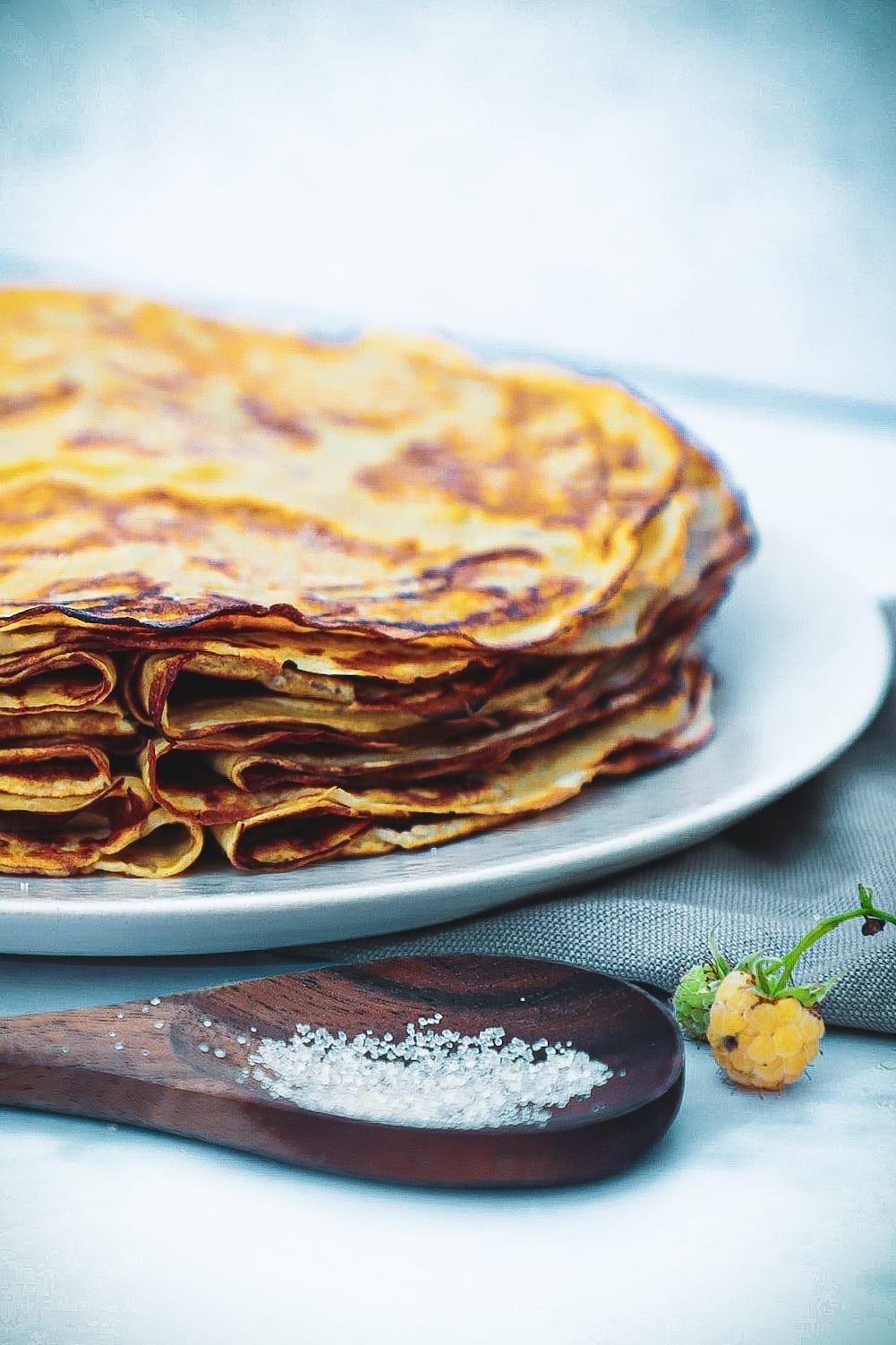 Pandekager - Opskrift på de bedste pandekager