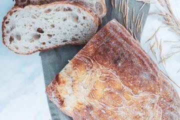 Rustikt franskbrød - Opskrift på franskbrød med manitoba
