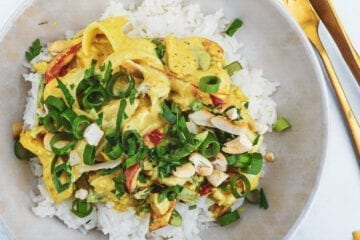 Thai chicken curry - Opskrift på kylling i karry med kokosmælk