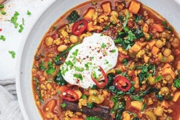 Marokkansk suppe - Opskrift på Harira - Marokkansk suppe