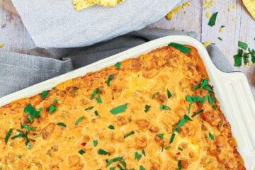 Ostedip - Opskrift på dip med ost, chili og hakket oksekød