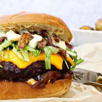 Hjemmelavet Homestyle Bearnaise - Opskrift på Bearnaise Burger