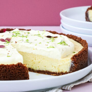 Key lime pie - Opskrift på frisk og lækker lime tærte