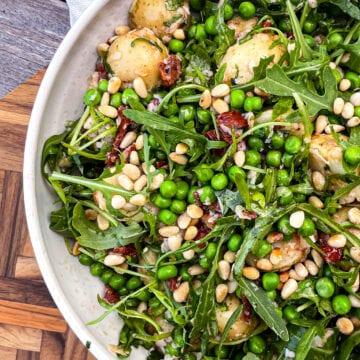 Kartoffelsalat - Opskrift på nem kartoffelsalat med marinade